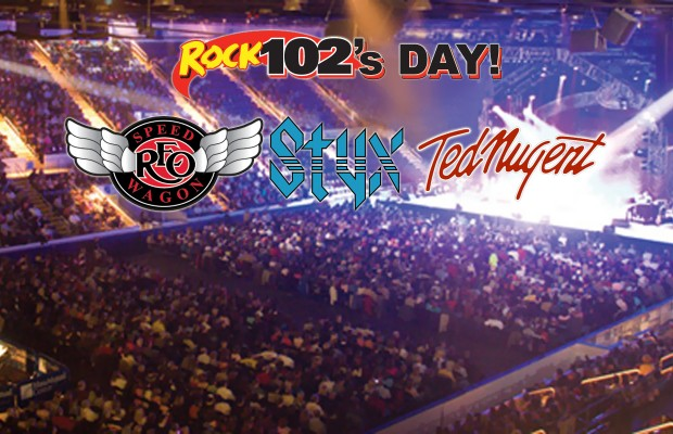 On Sale Date for Rock 102's Day