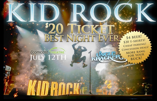 Kid Rock w/ Marshall Tucker Band + Uncle Kracker