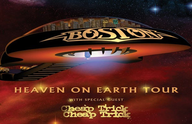 Boston with Cheap Trick